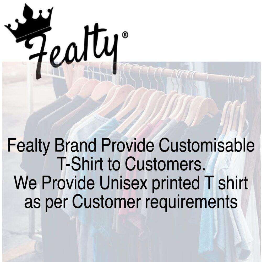 Customization Graphic Printed T shirt