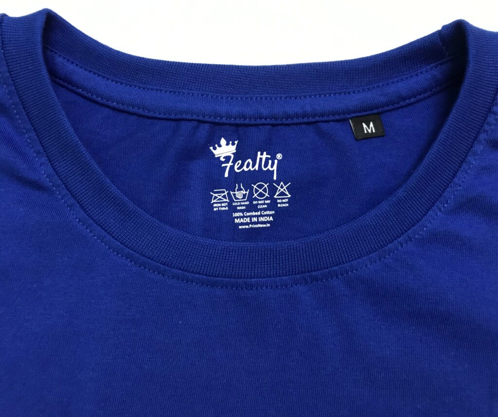 Blue Color Brand Outside Lable Fealty Customization Brand