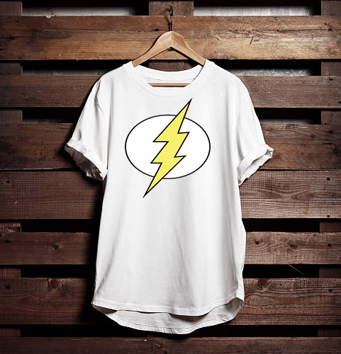 Thunder Fealty Brand Graphic Printed T shirt