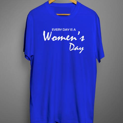 Women's Day Graphic Printed T shirt