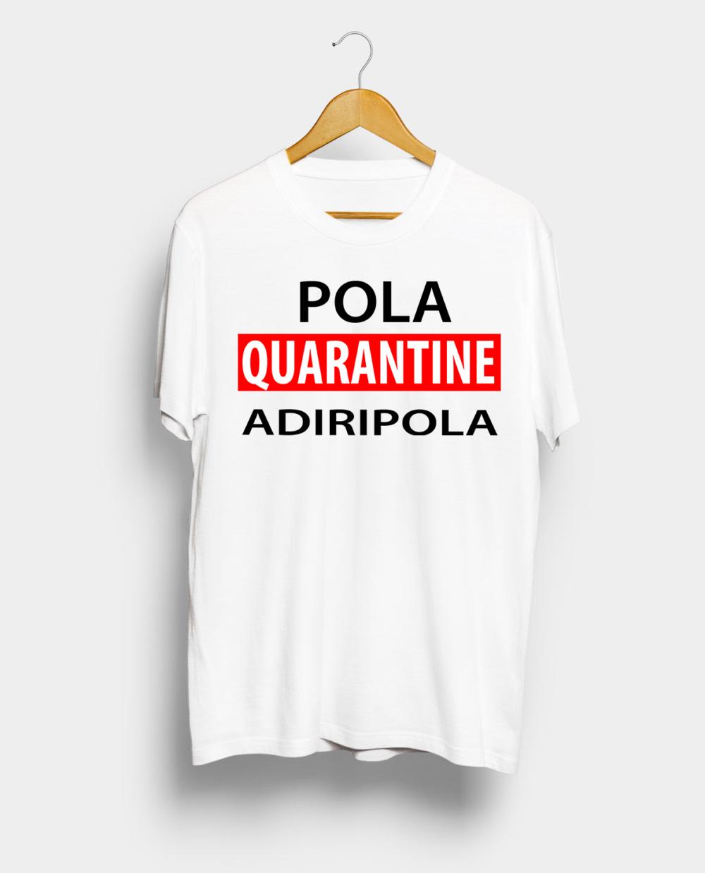 Telugu Trending Pola Quarantine Adiripola Graphic Printed T shirt
