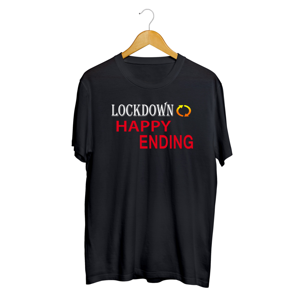 Men Quarantine Lockdown T shirt