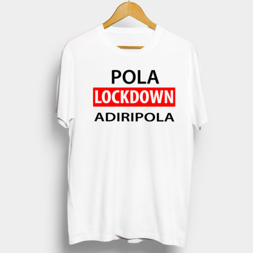 Telugu Trending Pola Lockdown Adiripola Graphic Printed T shirt