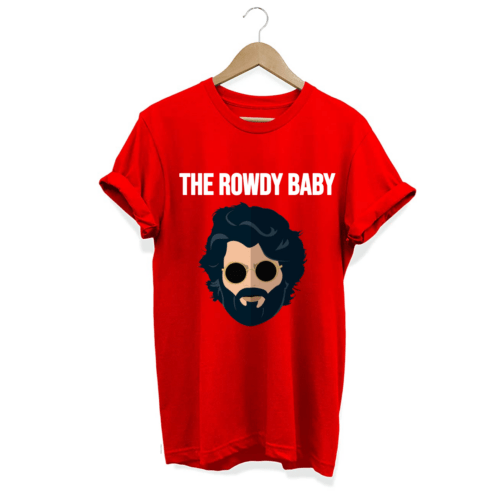 The Rowdy Baby Telugu Graphic unisex T shirt