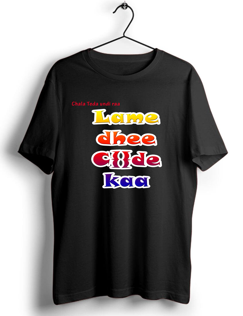 Telugu Hero BalaKrishna Dialogue T shirt