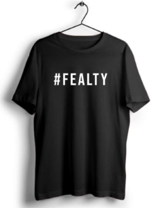 Fealty Hashtag Printed T shirts For Men