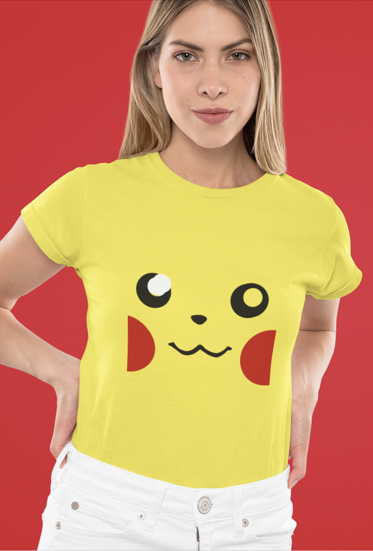 Pikachu Graphic women T shirt online India