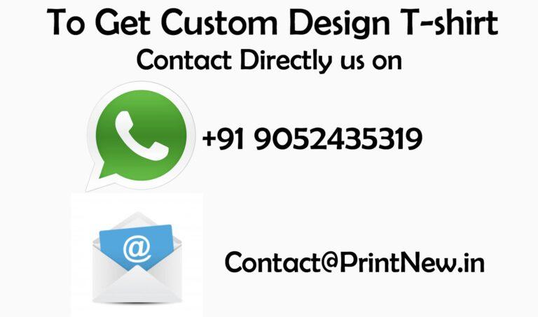 Best T shirt Customization Website in India