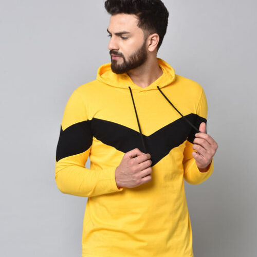 Stylish Cotton Blend Men's Hoodie | Fealty Tshirts