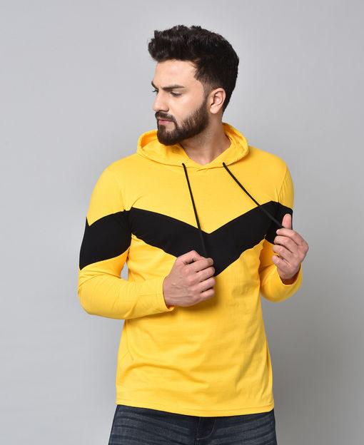 Stylish Cotton Blend Men's Hoodie   Fealty Tshirts