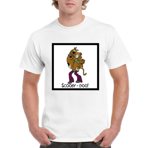Official Scooby Doo Merchandise Online Graphic White T shirt