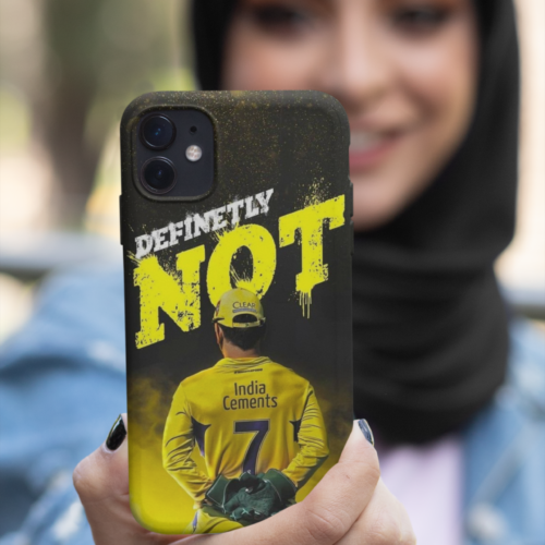 ms dhoni definitely not mobile case