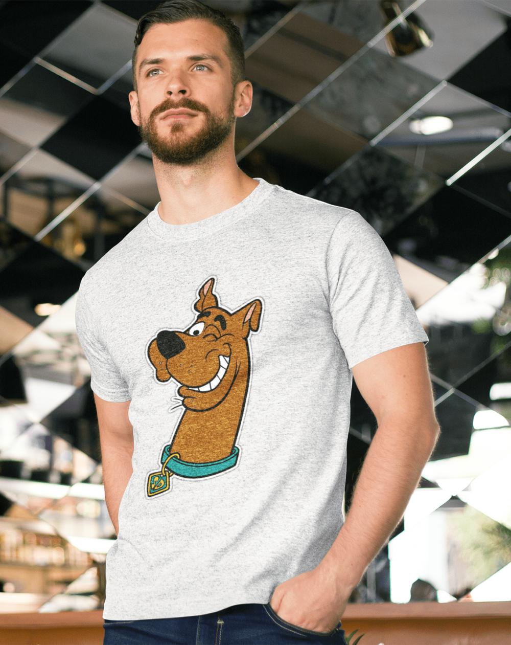 Scooby Doo white Melange T-shirt